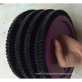 0.4mm Black PBT Wheel Textile Brush for Lk Machine (YY-608)