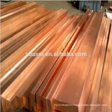 C11000 C10200 T2 Pure Copper Round Flat Bar
