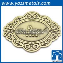 Pino de etiqueta de metal barato feito sob encomenda