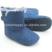 Мальчики синие повседневные ботинки младенца милые сапоги малышей малышей сапоги оптом