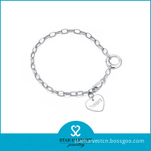 Fashion Rhodium Plated Silver Bracelet for Sale (SH-B0011)