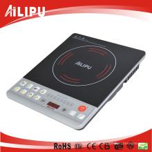 Ailipu marca melhor venda para a Síria mercado baixo preço botão indução fogão 2000W (ALP-18B1)