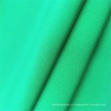 Tecidos de spandex de poliéster de 4 vias de microfibra respirável