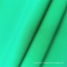 Tissus en polyester Spandex en microfibre respirant à 4 voies PD