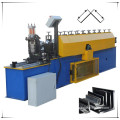 Wall angle roll form machine