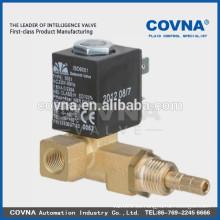 """G1 / 8 """"válvula de solenoide de actuación directa medio: agua, vapor, agua caliente material: latón válvula solenoide"""
