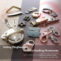 professional factory high quality metal high-end purse snap hook