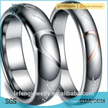 2015 High quality, hot sale fashion design hot sale tungsten ring