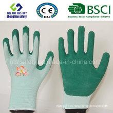 Glove Foam Latex Coated Gardening Working Gloves