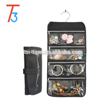 Hanging Jewelry Organizer Dress Sling Necklace Makeup Closet Display Holder Case
