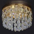 lampu siling chandelier diketuai komersial dengan kristal