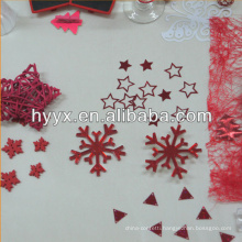 Star Sequins/Snowflake For Wedding Decoration
