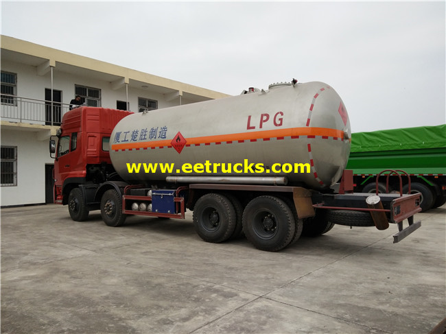 LPG Gas Tanker Truck