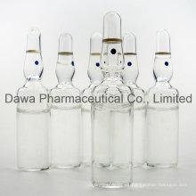 Inyección de antibiótico sulfato de gentamicina para infecciones
