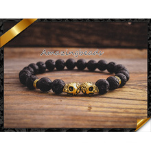 Hot Fashion Skull Jewelry Stone Bracelets (CB037)