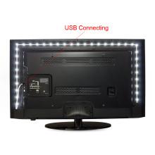 Nenhum À Prova D 'Água 5 M 4 M 3 M 2 M 1 M Controle Remoto Alimentado LED 3528 (2835) RGB USB TV Iluminação Ambiente