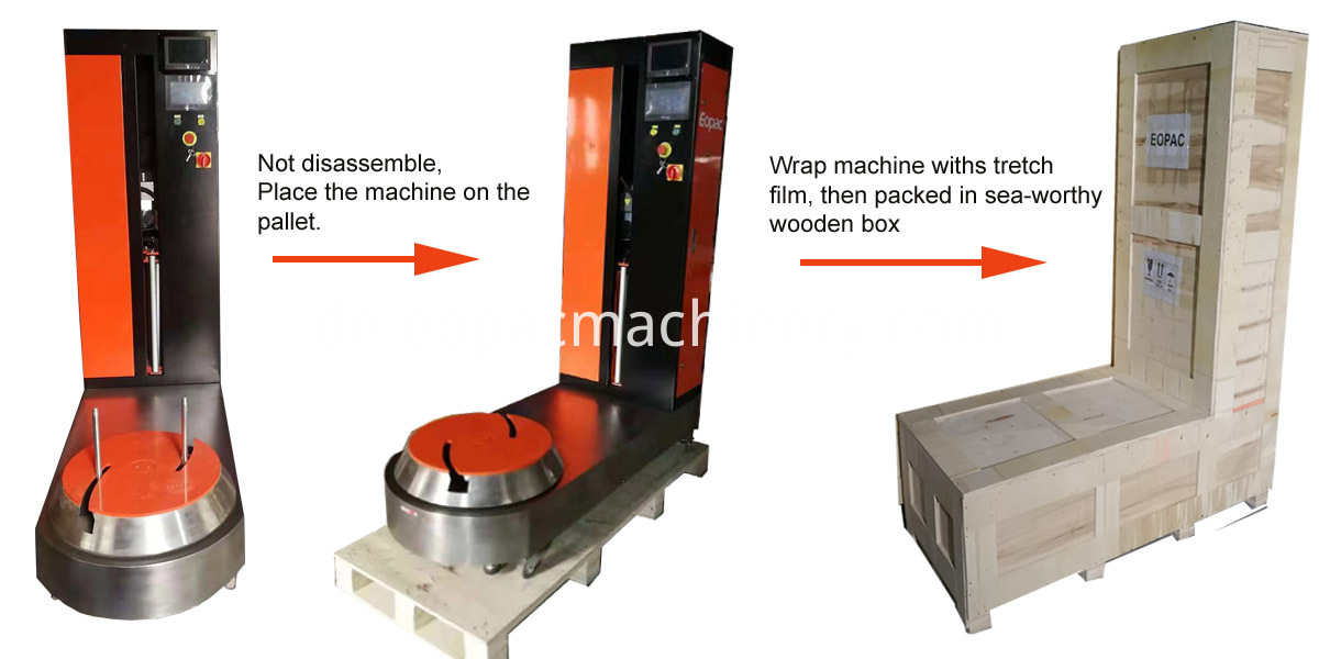 Baggage Wrapping Machine Baggage Wrapper