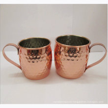 2016 New Premium Copper Coated Moscow Mule Mug Manufacturer