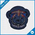 Lovely Bear Design Fabric Label for Kids Garment/Bag