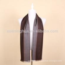 100% wool men pashmina scarf