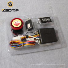 SCL-2012120050 vente chaude système d'alarme moto système d'alarme de sécurité anti-vol télécommande accessoires