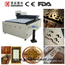 High Speed Galvanometer CO2 Laser Wood MDF Veneer Cutting Machine