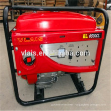 Electric start AVR gasoline generator 4kva