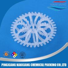 Пластичное кольцо розетки рассказчика для системы очистки воды упаковки башни скруббера