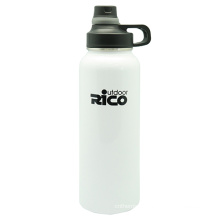 Outdoor Activity Stainless Steel Vacuum Bottle with Screw Lid 1200ml