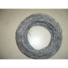 Black Twisted Wire