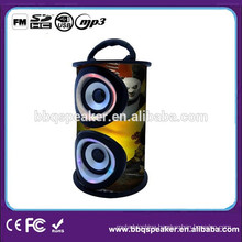 Action portable mp3 party speaker stereo amplifiered