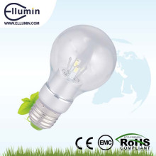 360 degree led bulb 5w clear glass bulb