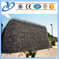 Gabion baskets with welded mesh