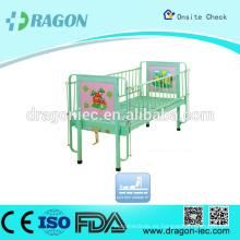 DW-CB02 Manual Medical Cartoon Lovely Children Bed