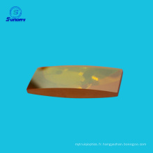 Lentille convexe de zinc de Selenide et lentille de mise au point menée