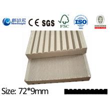 Placa de WPC Placa WPC com SGS CE Fsc ISO para o banco, cerca, Placa de madeira plástica do Dustbin Plank Lhma068