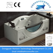 Wholesale Price for fashion glass tub Square acrylic jacuzzi bath whirlpool tub supply to Portugal Manufacturer