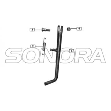Suporte lateral para ZONGSHEN RX3 PEUGEOT TOP QUALITY