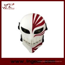 Japón Comic cráneo Horrible máscara Scream mascarilla plástico del cráneo mascarilla facial para camuflaje