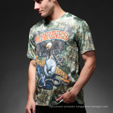 Outdoor Sports Military Airsoft Tactical Python Camo T-Shirt