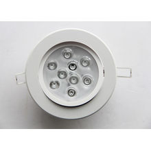 880lm Luminous Flux 50-60hz 9w Dimmable Led Downlights Ip20 For Show Windows
