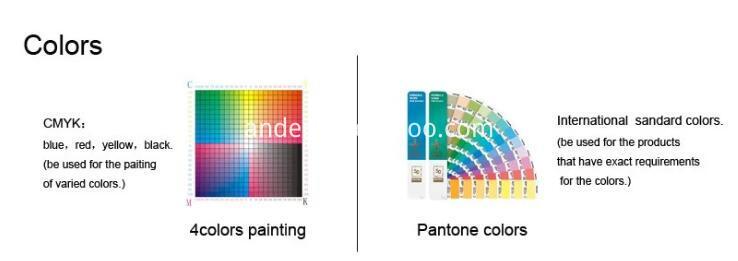 Cmyk Printing And Pantone