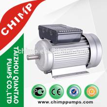 Preço do motor de ventilador monofásico YL90L-4 / 2hp / 4 pólos