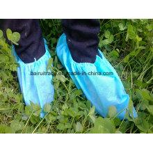 Couvre-chaussures non-tissé jetable non-tissé de chaussures de pp