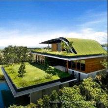 Espessura de 1,5 mm reforçado cloreto de polivinil PVC impermeável membrana de cobertura / Roof Garden PVC Film (ISO)