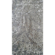 Full Sequins Taffeta Embroidery Fabric