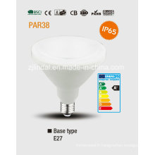 PAR38 Ampoule de LED imperméable à l'eau