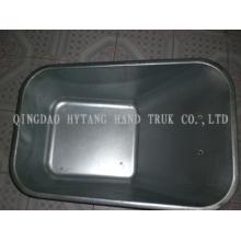 80L Metallmantel kann verzinkt und lackiert