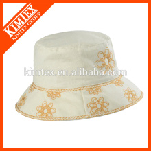 adult embroidered printed fashion bucket hat
