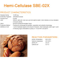 Hemi-cellulasi per la cottura